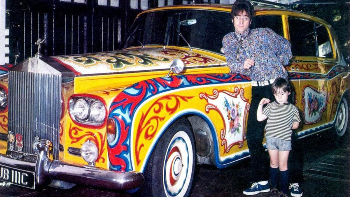 Los coches de John Lennon, ¡menudas maravillas!