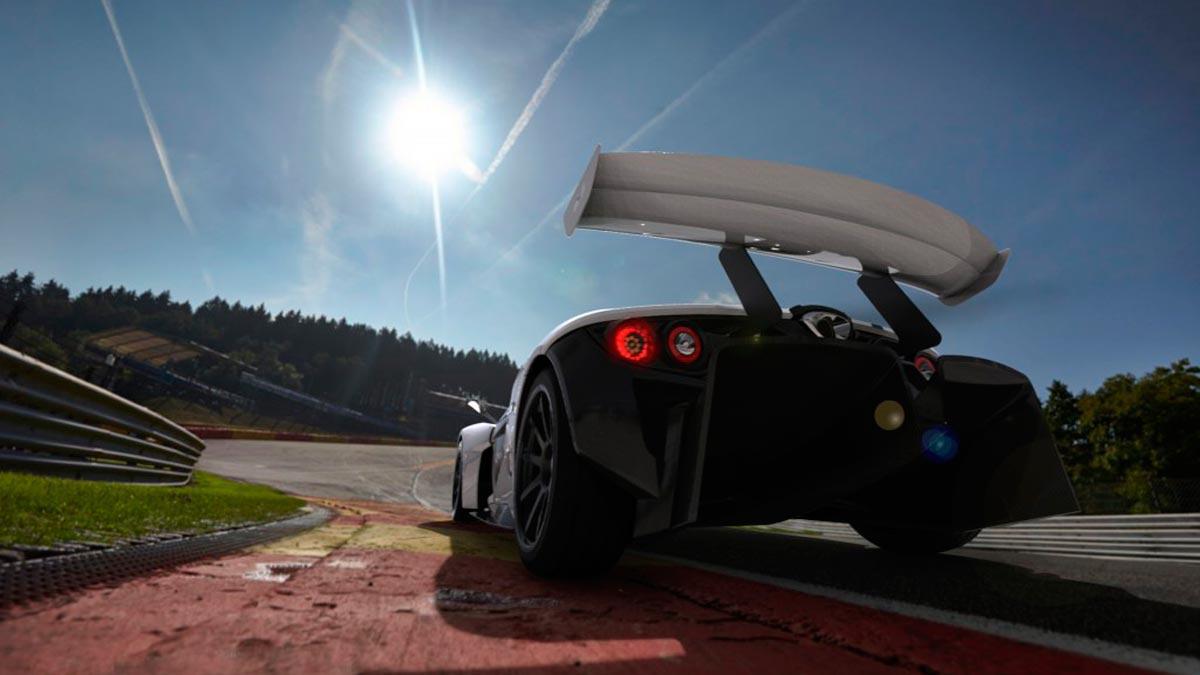Elemental RP1 deportivo ligero brutal superdeportivo aerodinámica downforce