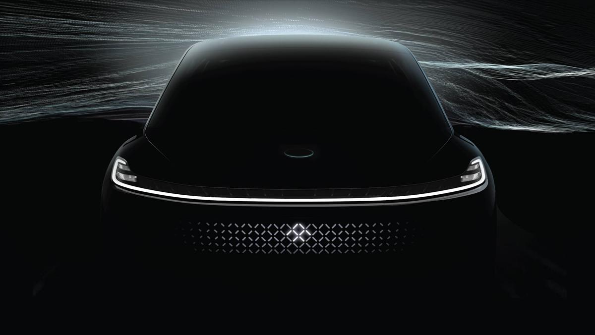 Faraday Future, teaser