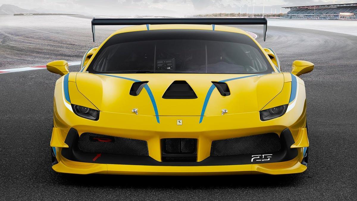 Ferrari 488 Challenge competición deportivo racing superdeportivo