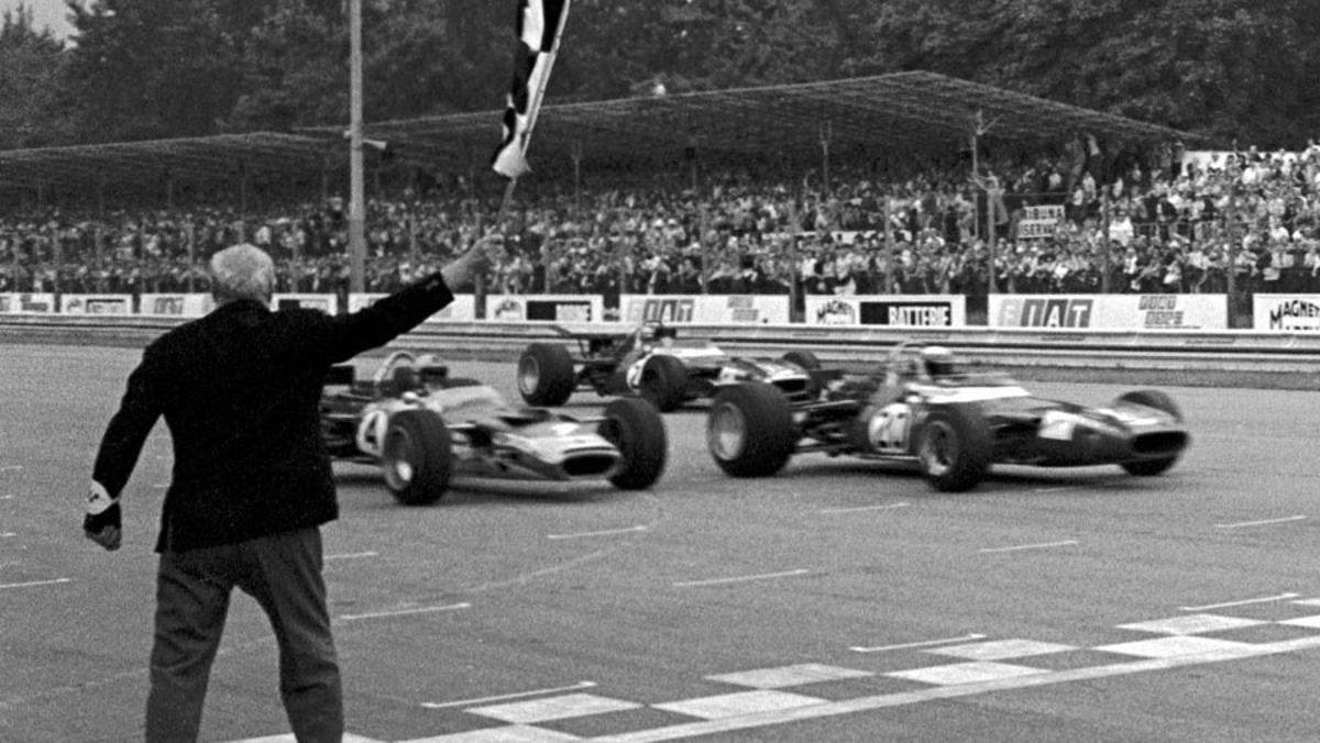 Los finales de carrera más ajustados en la F1