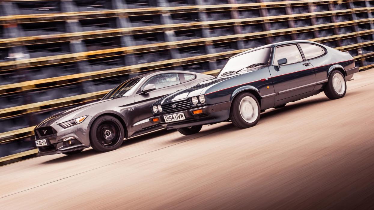 Ford Mustang vs. Ford Capri (I)