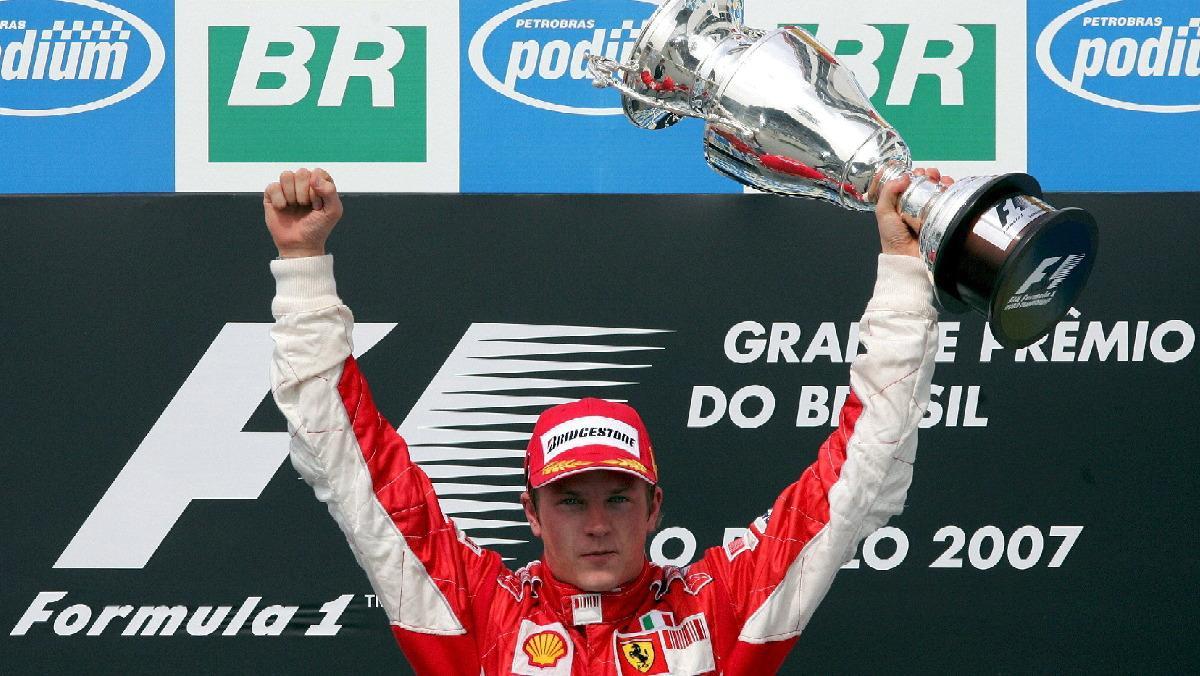 Kimi ganó el Mundial 2007 por un solo punto de ventaja a Hamilton y Alonso