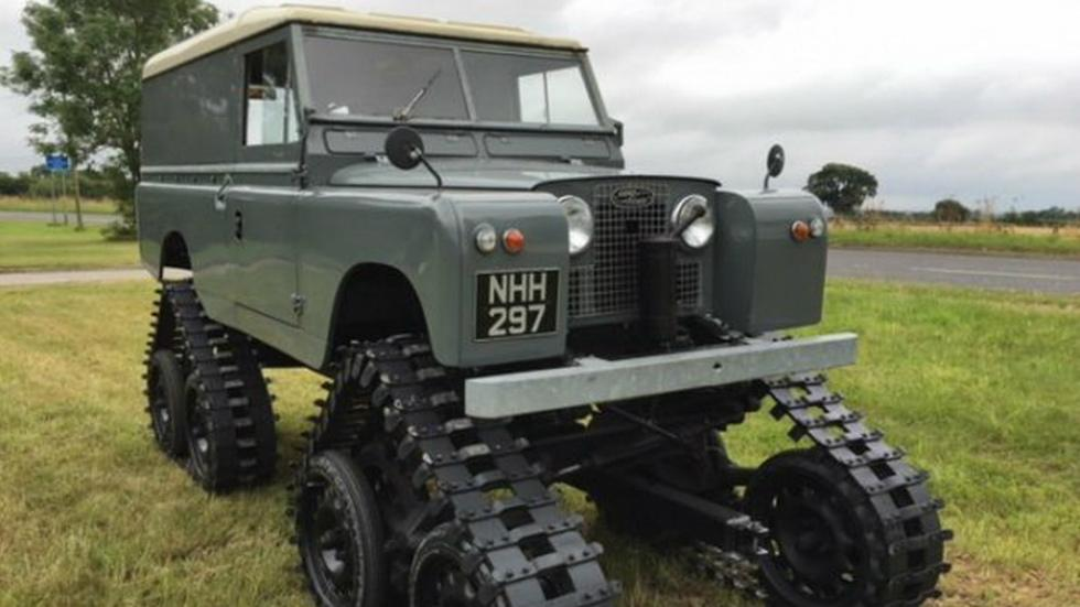 Land Rover Defender 109 S2 de 1959