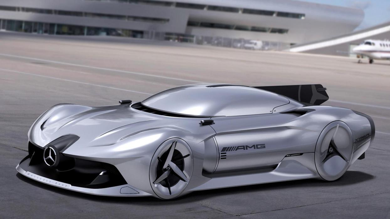 Mercedes Flecha Plateada 2040 (I)
