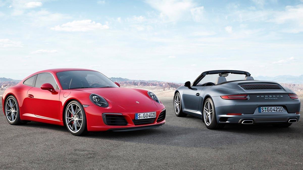 Porsche 911 diesel carrera cabriolet