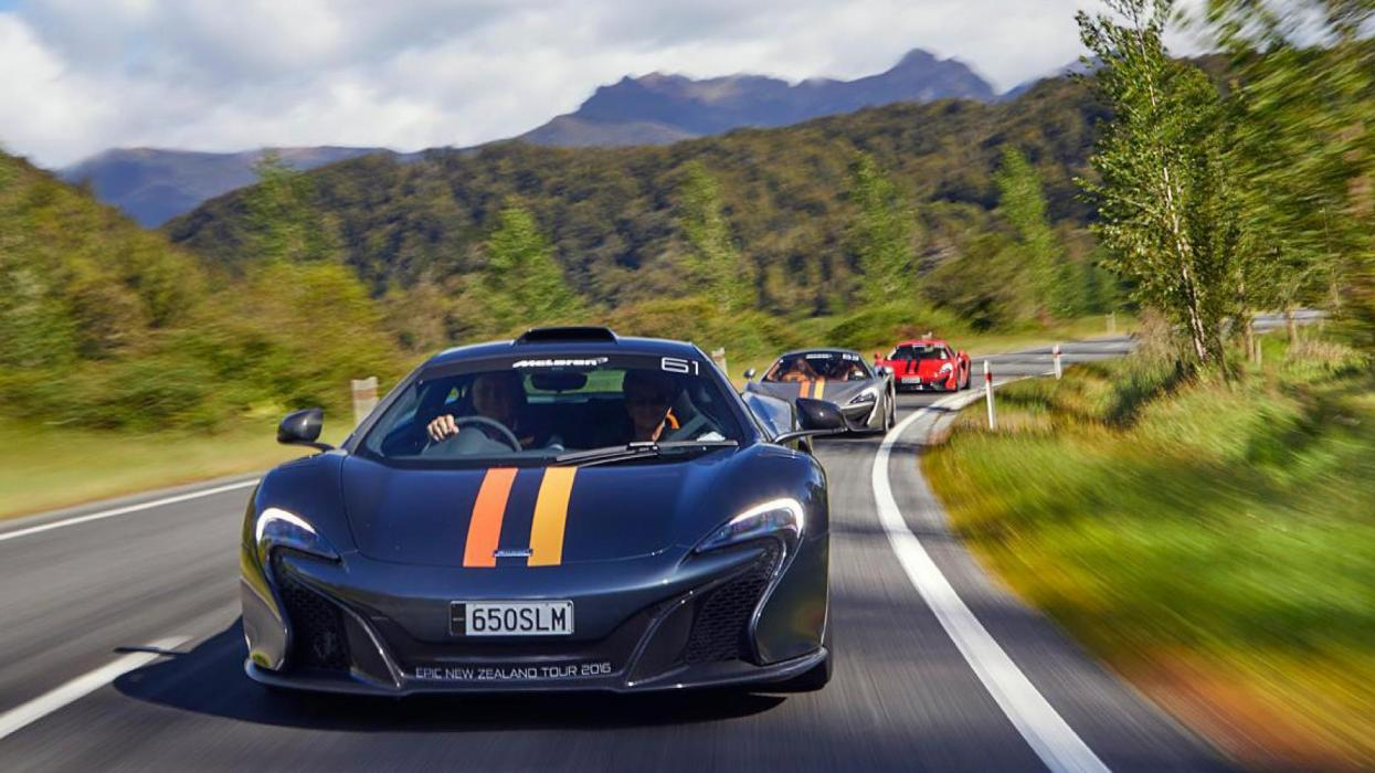 Tour McLaren Nueva Zelanda 2016 (I)