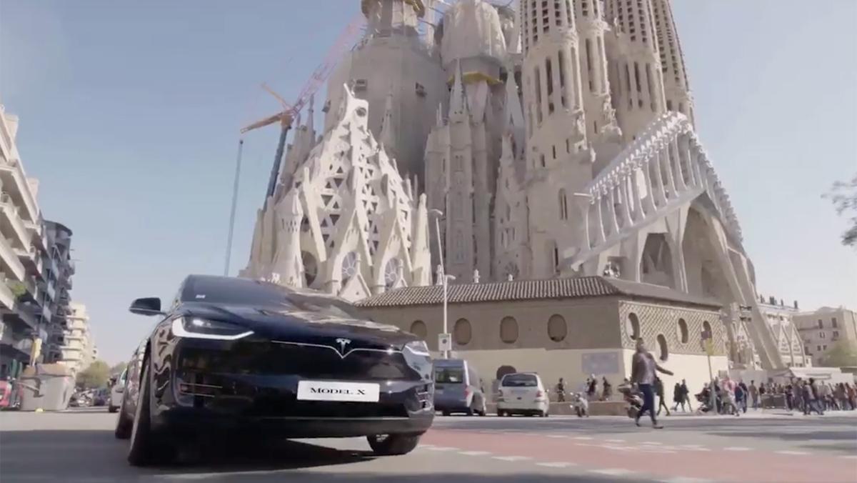 Vídeo de Tesla sobre España