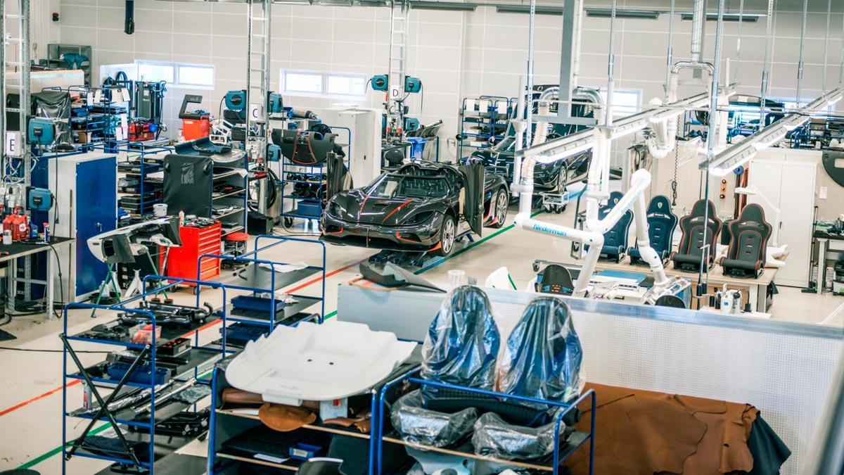Visita a la fábrica de Koenigsegg