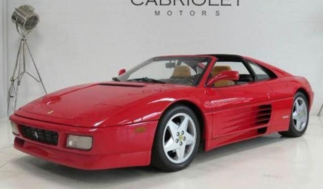 Venta Ferrari 348 TS de 1991
