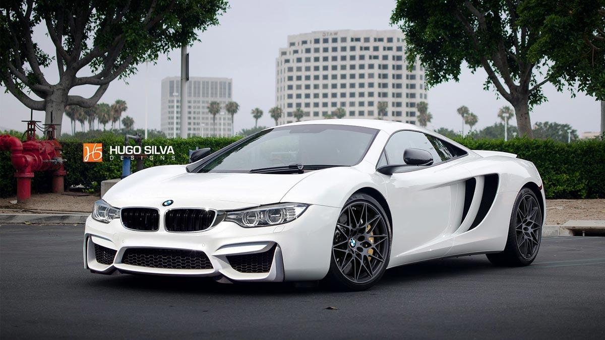 BMW superdeportivo McLaren diseño chop