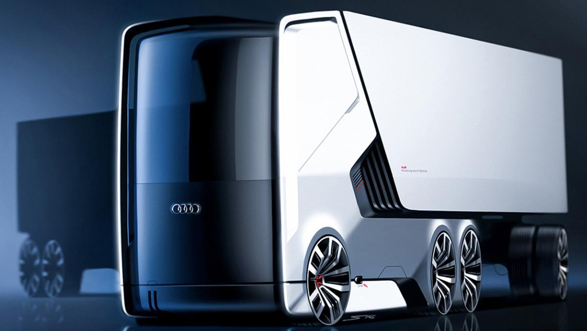 Camión eléctrico Audi (I)