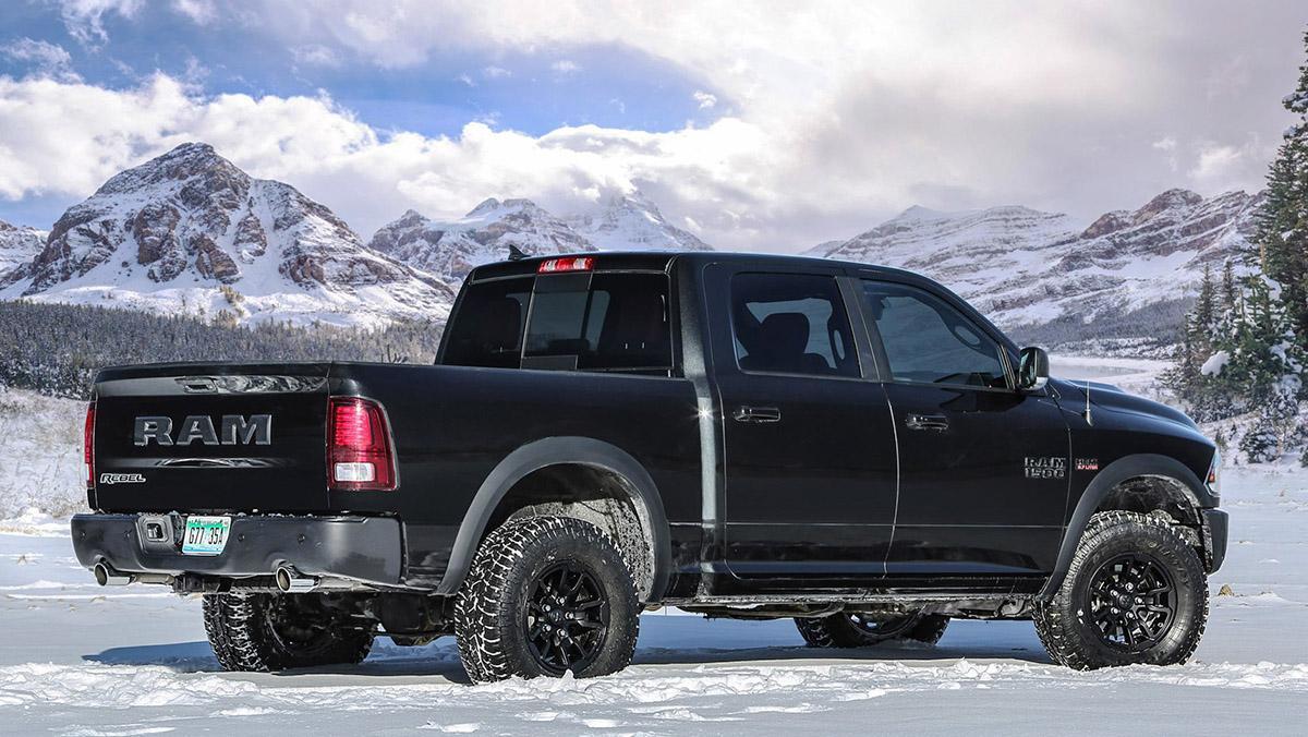 Dodge Ram Rebel Black Edition