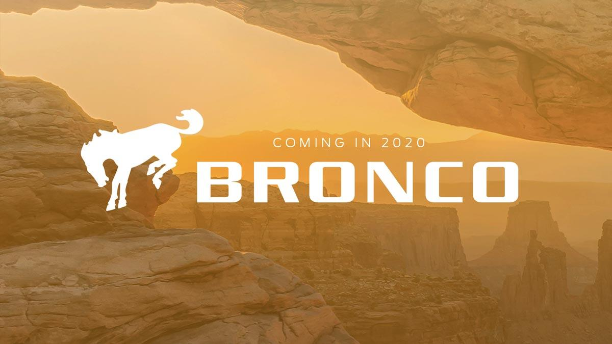 Ford Bronco 2020 futuro todo terreno