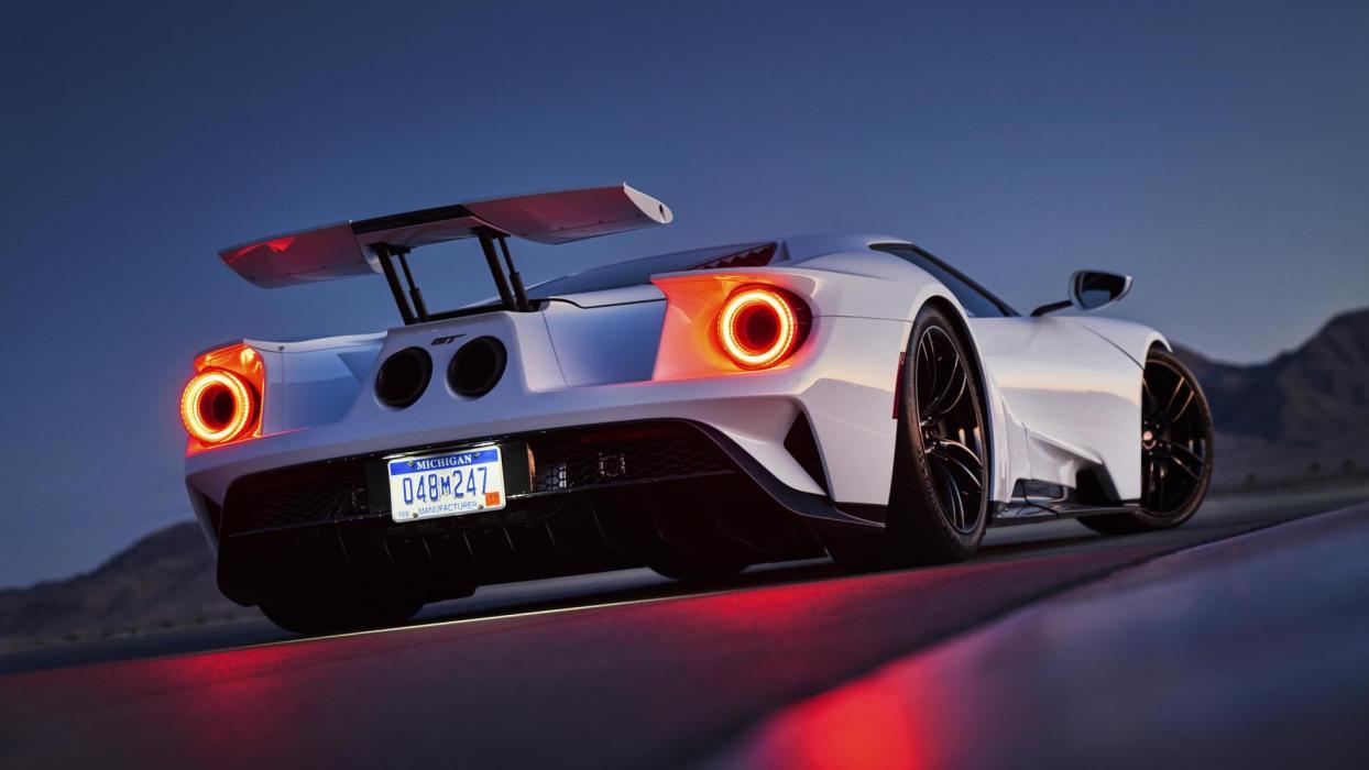 Ford GT 2017 modo race deportivo lujo superdeportivo alerón