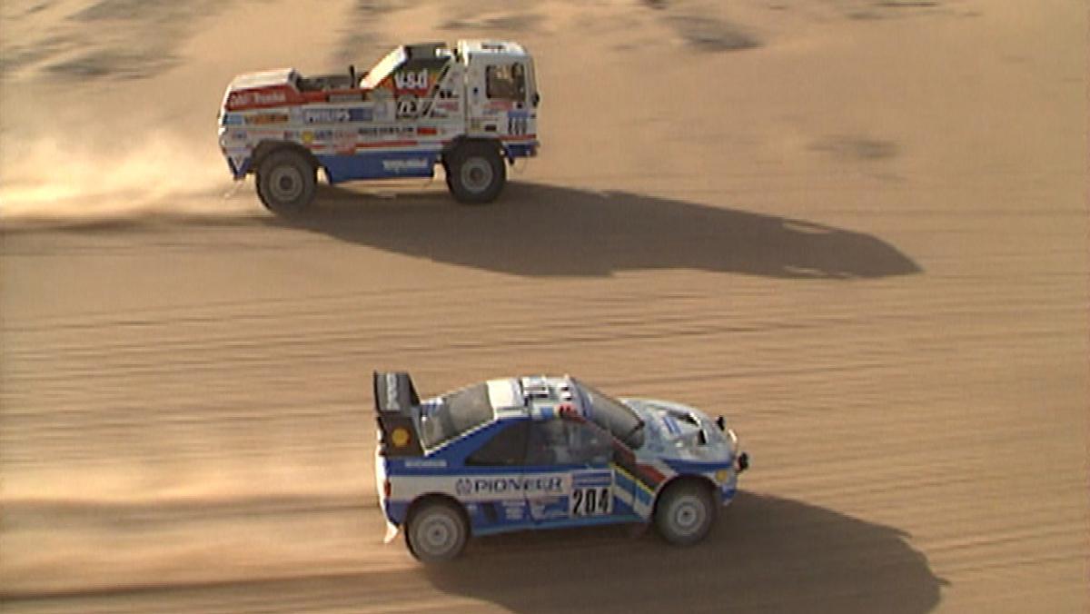 El mejor adelantamiento de la historia del Dakar