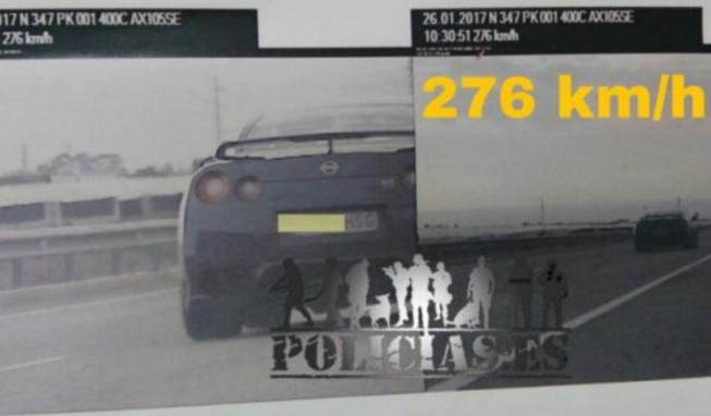 Nissan GT-R 276 km/h
