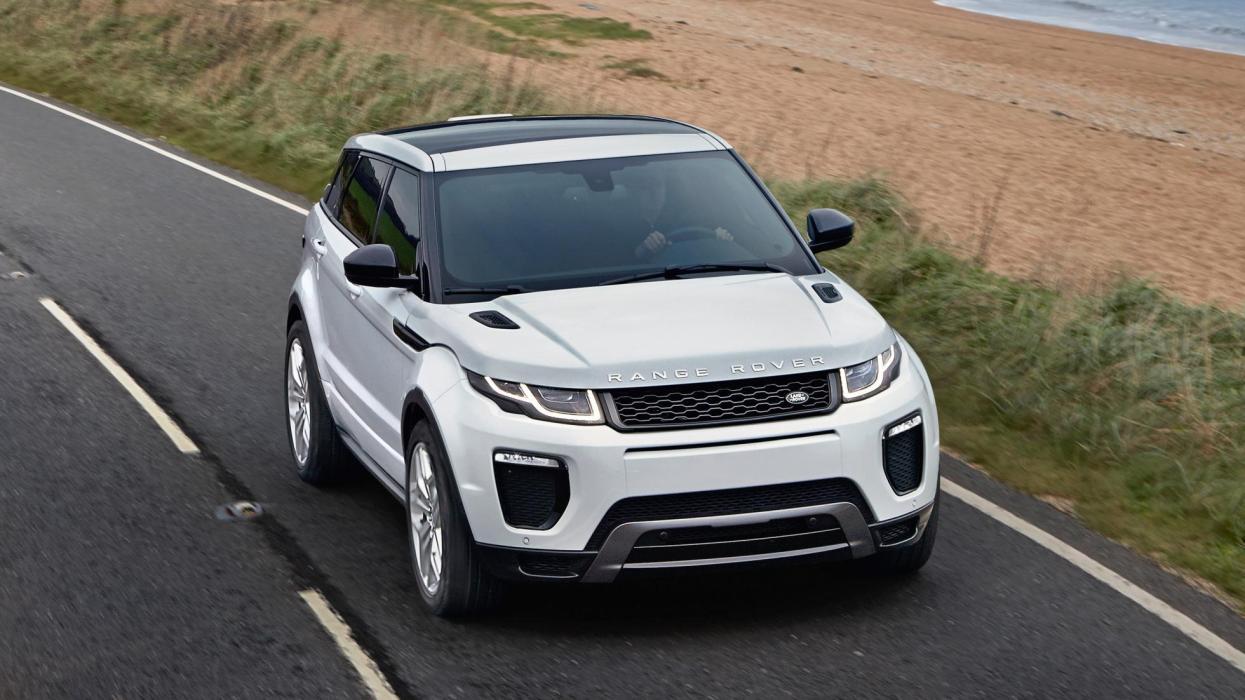 Prueba Range Rover Evoque alto de gama (I)