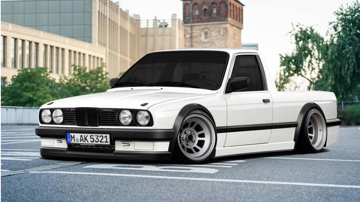 Render BMW E30 pick-up