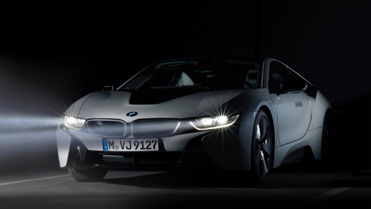 tecnología de faros láser de BMW