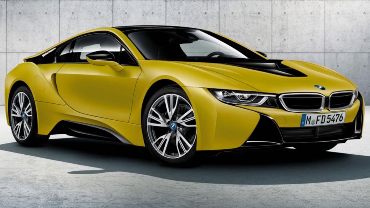 BMW i8 edición especial