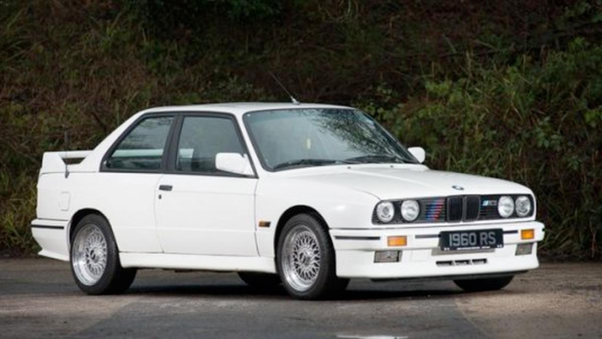BMW M3 E30, a subasta