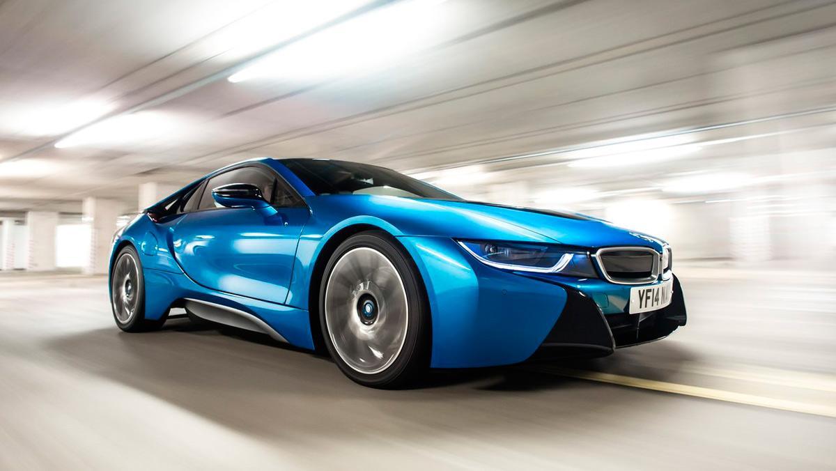 Coches para celebrar San Valentín: BMW i8 (I)