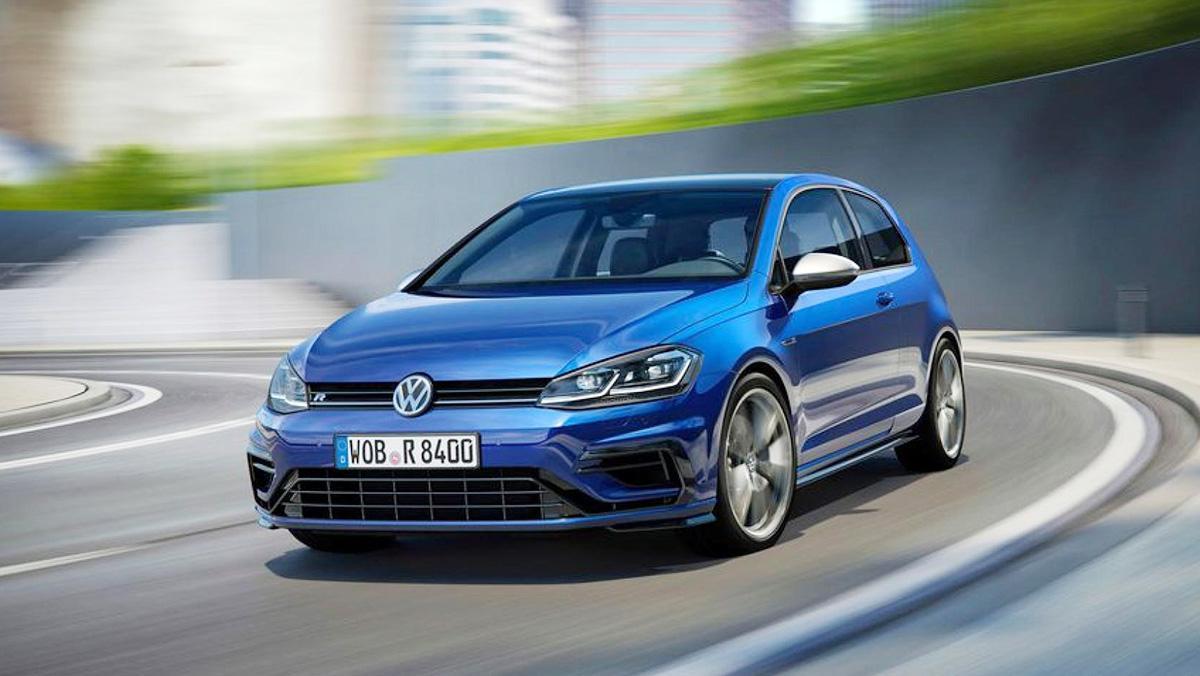 Coches para 'engañar' a tu pareja - Volkswagen Golf R 2017