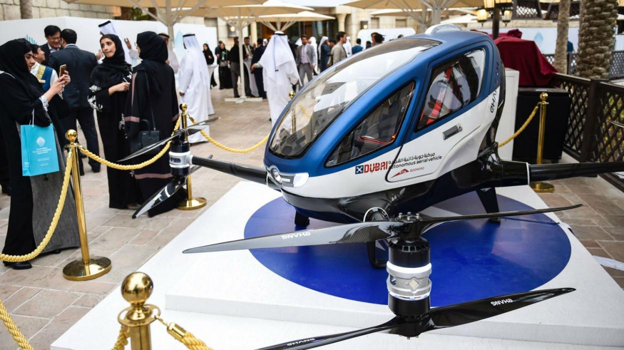 Dron-Taxi en Dubai