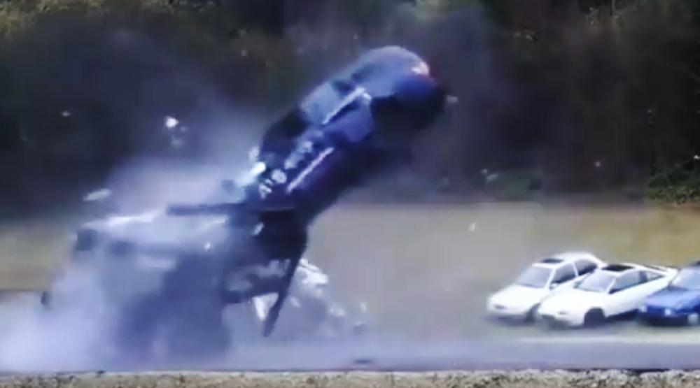 Esto es lo que ocurre en un choque a 200 km/h