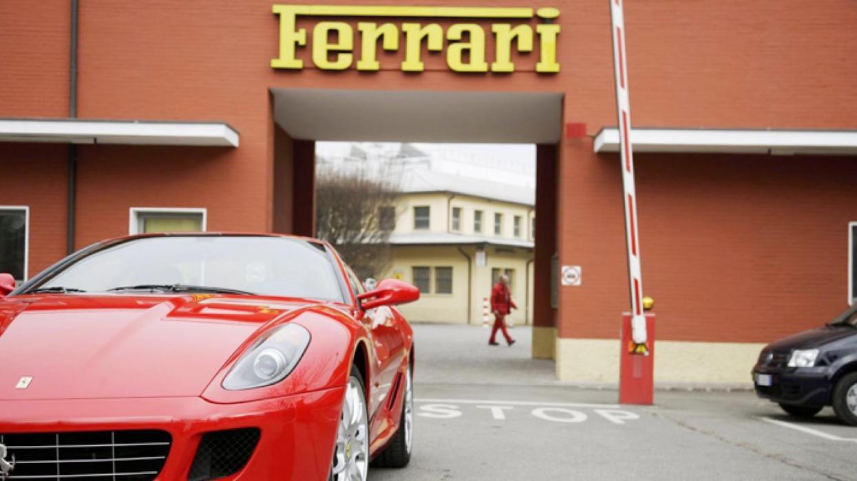 Fábrica Ferrari 599