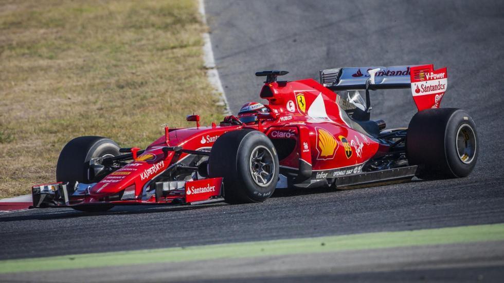 Monoplaza Ferrari