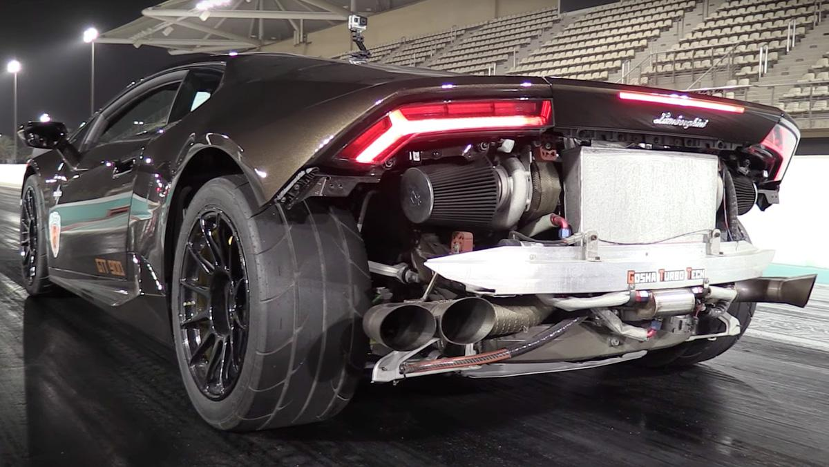 El Lamborghini Huracán más rápido del mundo