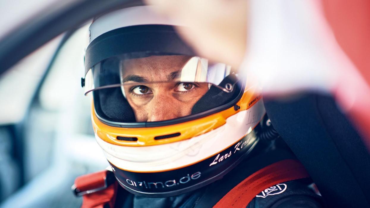 Lars Kern, piloto probador del Porsche Panamera (V)