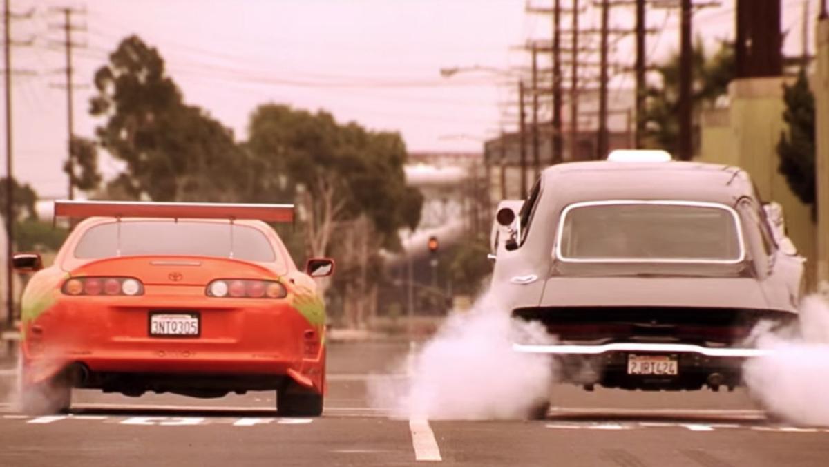 Las mejores películas de coches - A todo gas