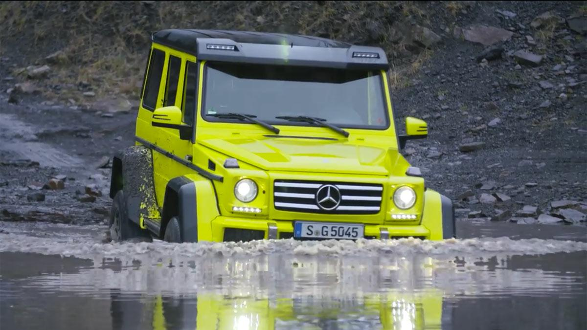 Mercedes G500 4x4 Chris Harris