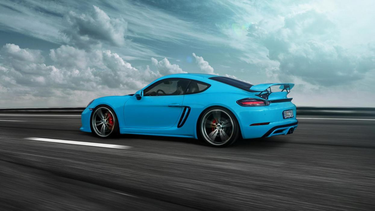 Porsche 718 Cayman GT4 Techart