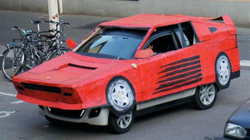 Réplica de Ferrari