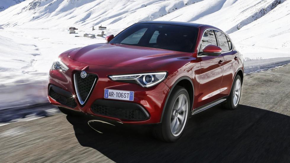Rivales Range Rover Velar: Alfa Romeo Stelvio (I)