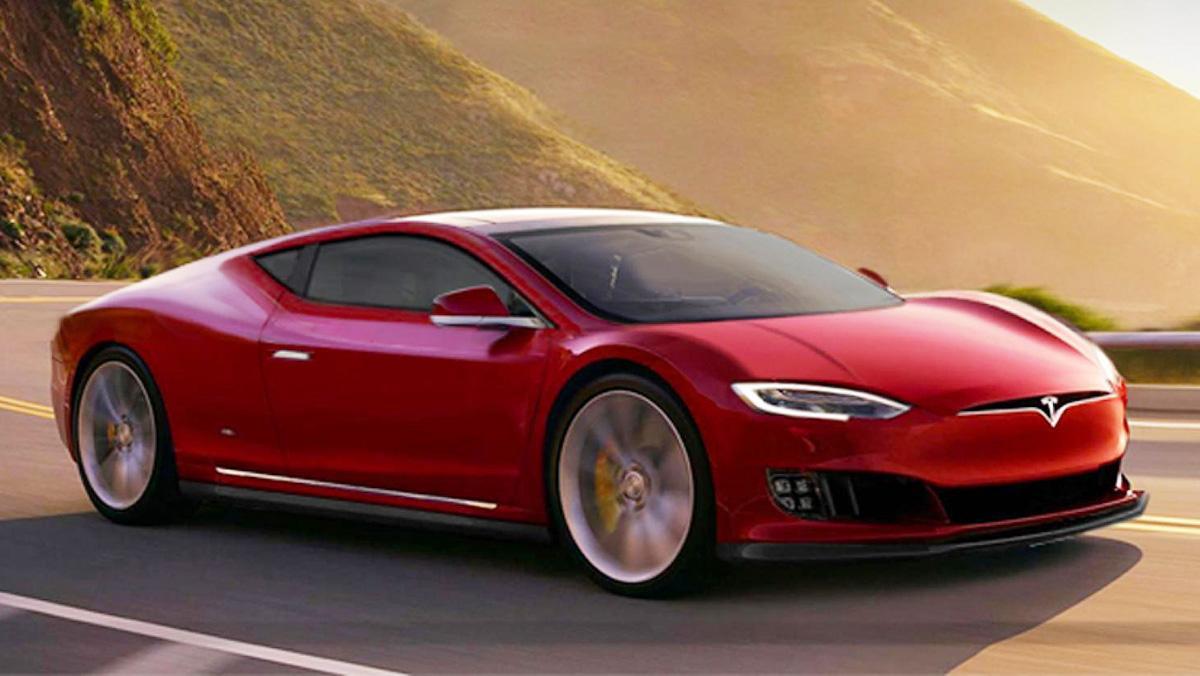 Tesla Model S Coupé