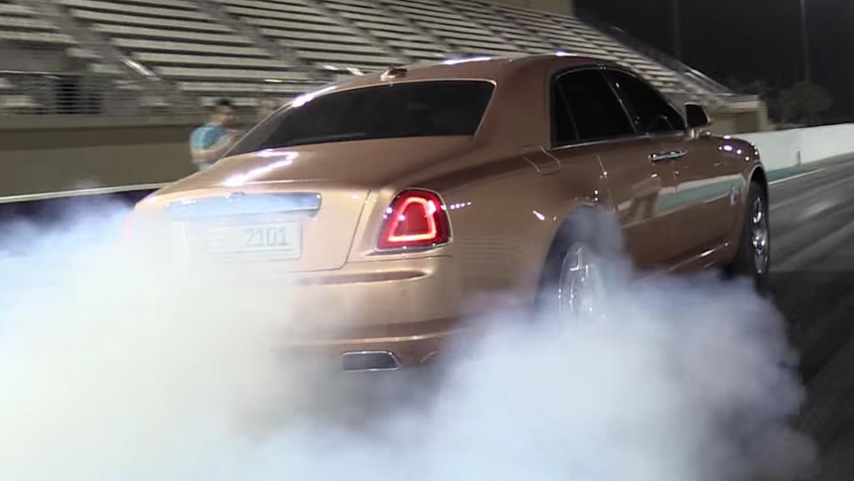 Así es como debe usarse un Rolls-Royce