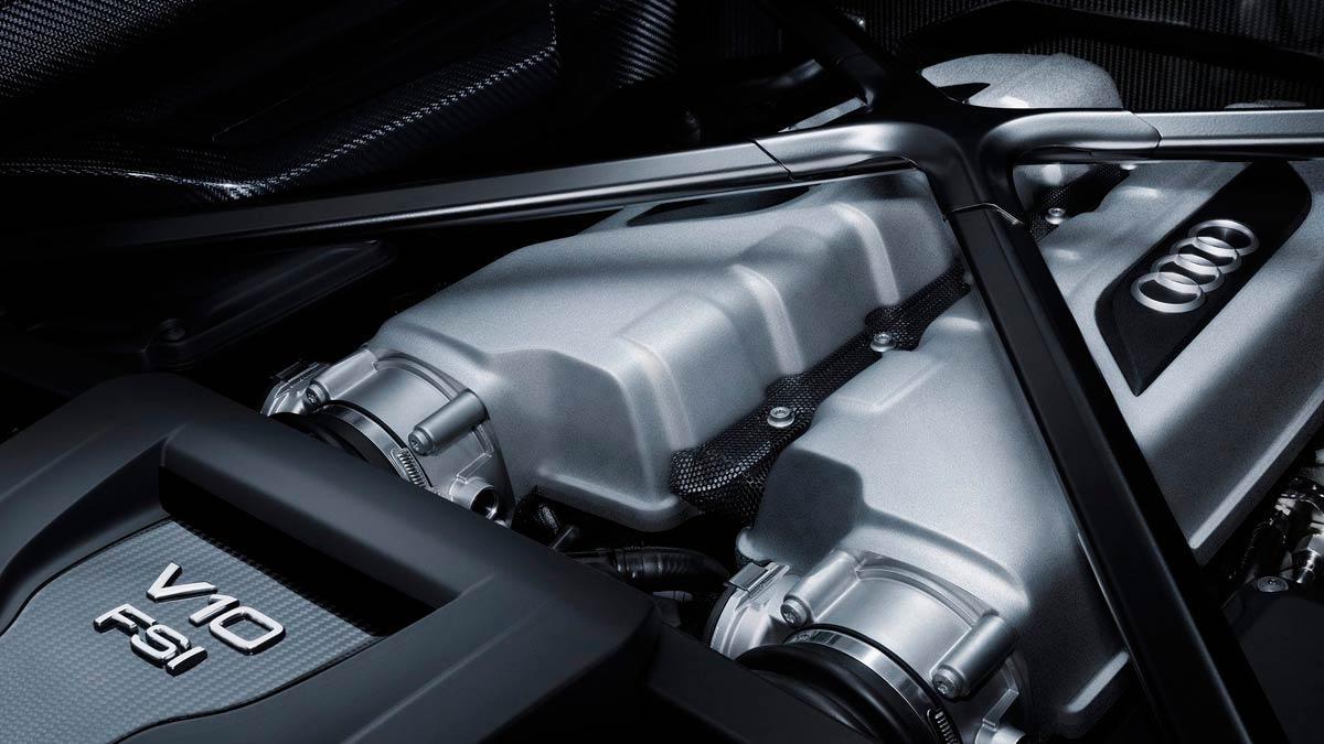 Audi R8 V10 motor atmosférico