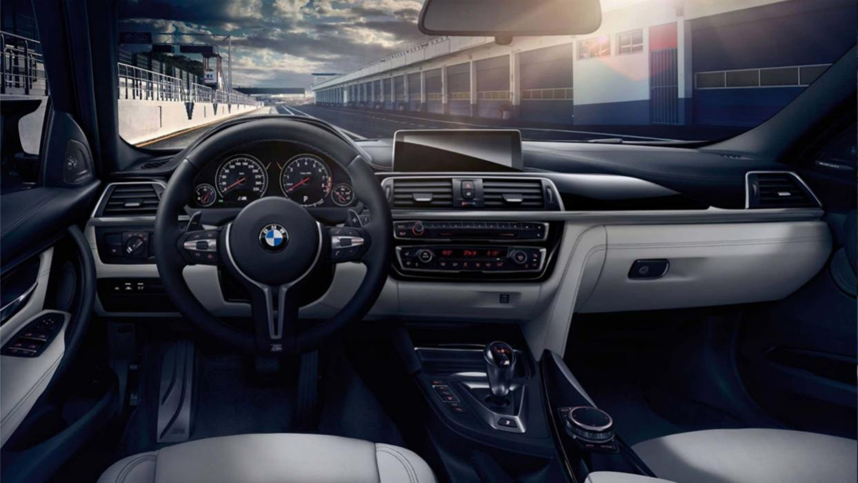 BMW M3 2017 interior