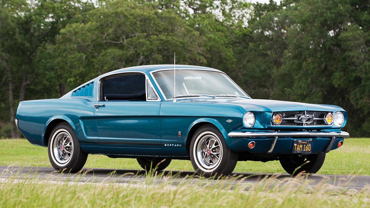 Los clásicos más populares en Estados Unidos según Instagram - Ford Mustang