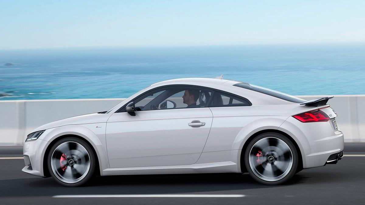 Coches que aparcan solos, Audi TT (II)