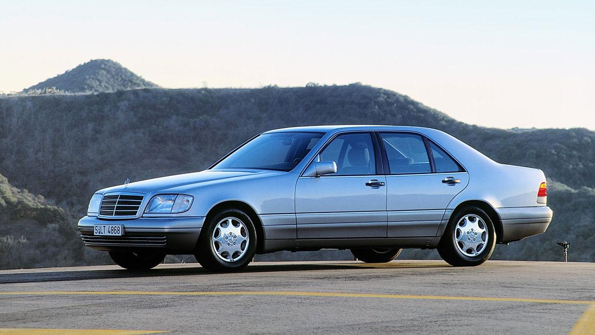 Mercedes Clase S W140 Robusto