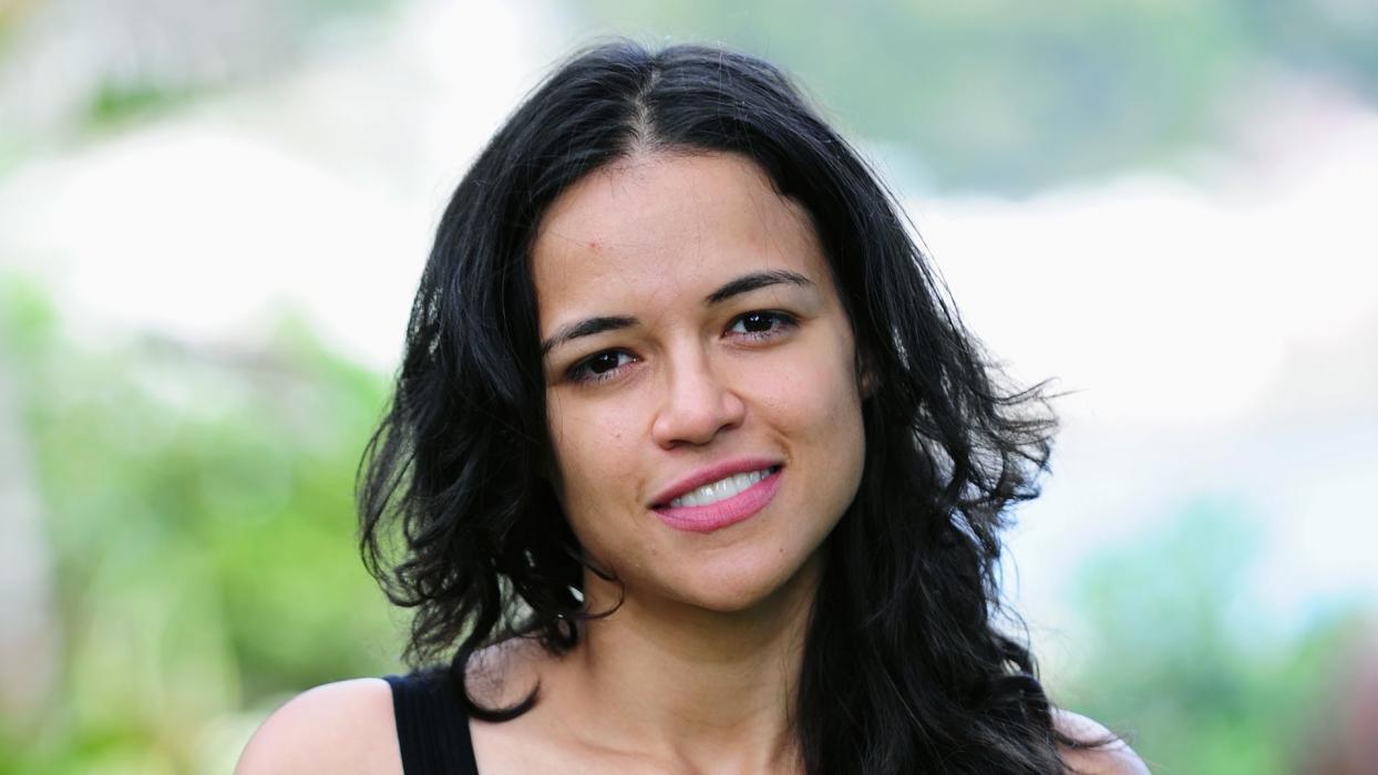Actriz Michelle Rodríguez