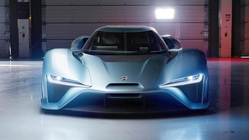 Nextev Nio EP9 superdeportivo eléctrico