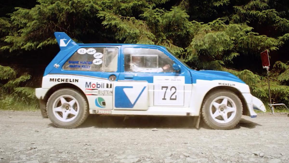 Película Grupo B de rallys