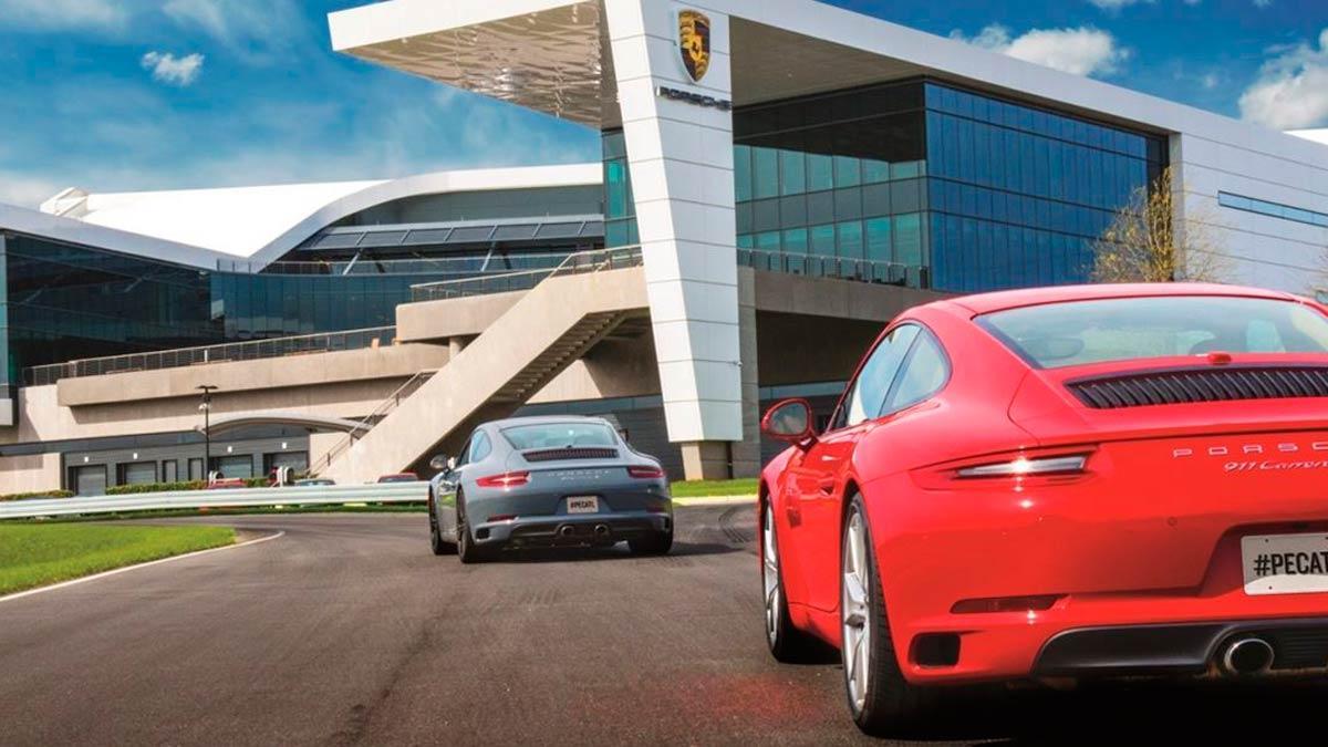 Porsche experience Atlanta